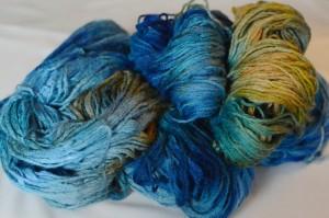 laine-bleue