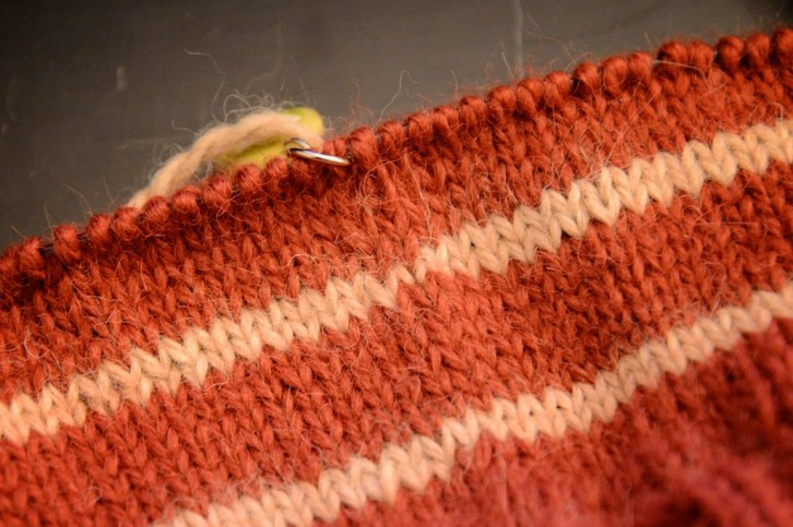 jogless stripes in the round
