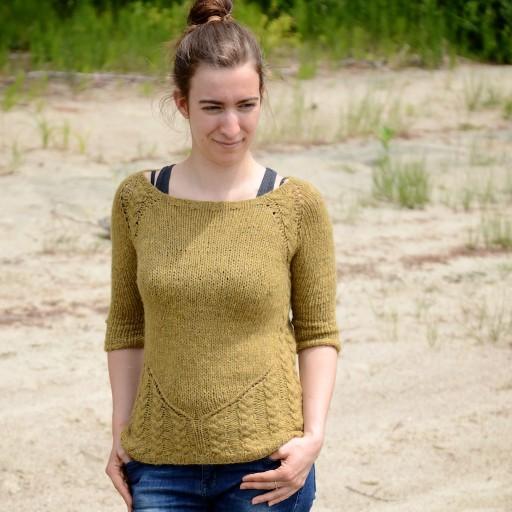 Grain of Sand Sweater knitting pattern