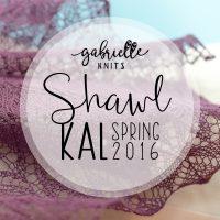 Knit-along, printemps 2016 : Châles