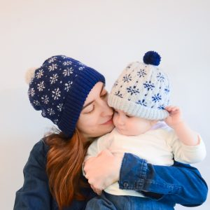 Winter Storm Hat Pattern Fair Isle Pattern for beginners