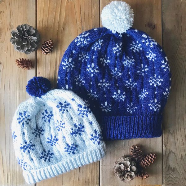 Winter Storm Hat – Fair Isle hat for babies to adults