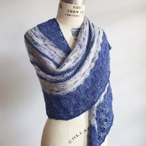 Cupcake Shawl Knitting Pattern