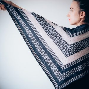 Majestic Shawl Knitting Pattern