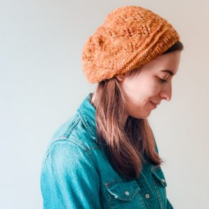 Dogleg Hat Knitting Pattern