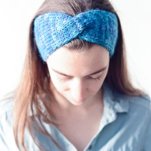 Downtown Headband Easy Knitting Pattern