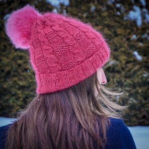 Snowslide Hat Free Knitting Pattern