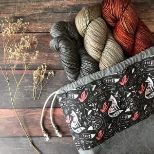 Yarn Collective Bloomsbury DK and Birch Grove Project Bag